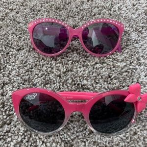Set of two toddler size sunglasses